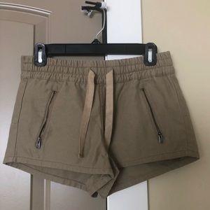 TNA Aritzia Taupe Shorts Size S